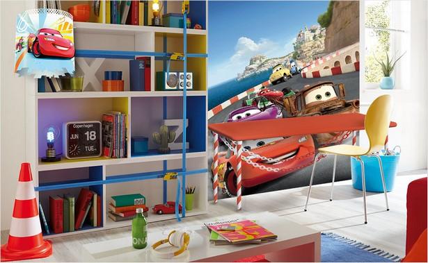 Cars kinderzimmer gestalten for Disney zimmer deko
