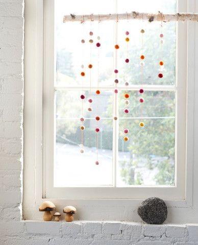 Deko Kinderzimmerfenster