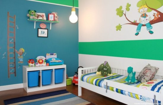 Kinderzimmer gestalten junge traktor  Kinderzimmer Gestalten Wande Junge ~ Speyeder.net = Verschiedene ...