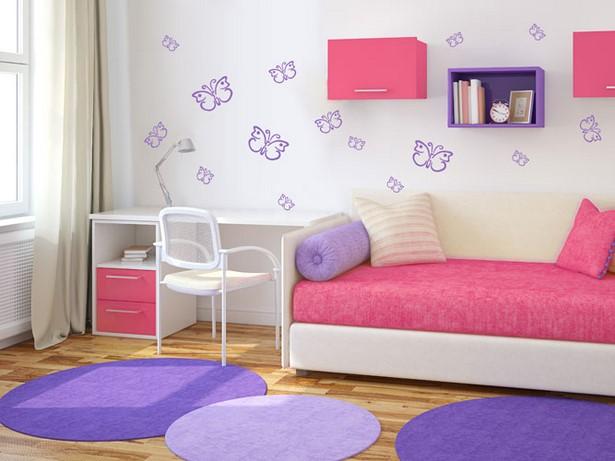 Gestaltung kinderzimmer m dchen - Wandgestaltung kinderzimmer madchen ...