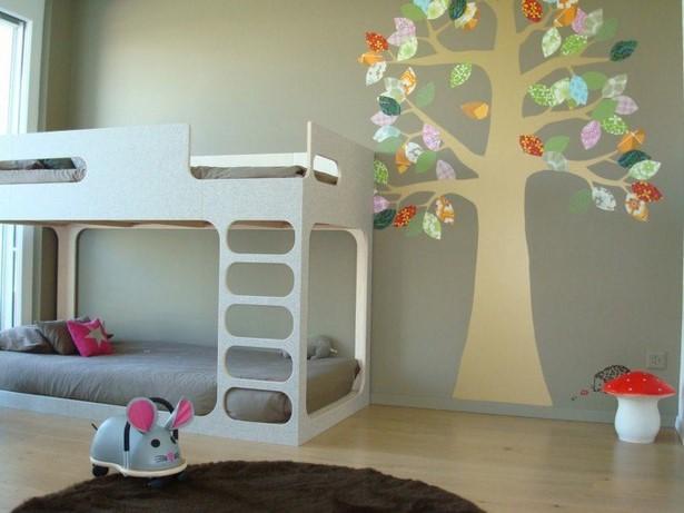 ideen f r kinderzimmer wand. Black Bedroom Furniture Sets. Home Design Ideas