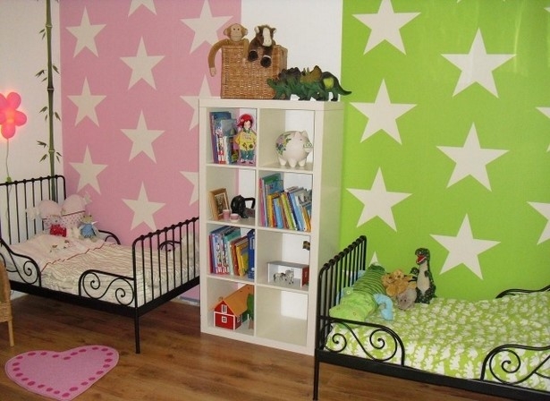 ideen kinderzimmer streichen beispiele. Black Bedroom Furniture Sets. Home Design Ideas