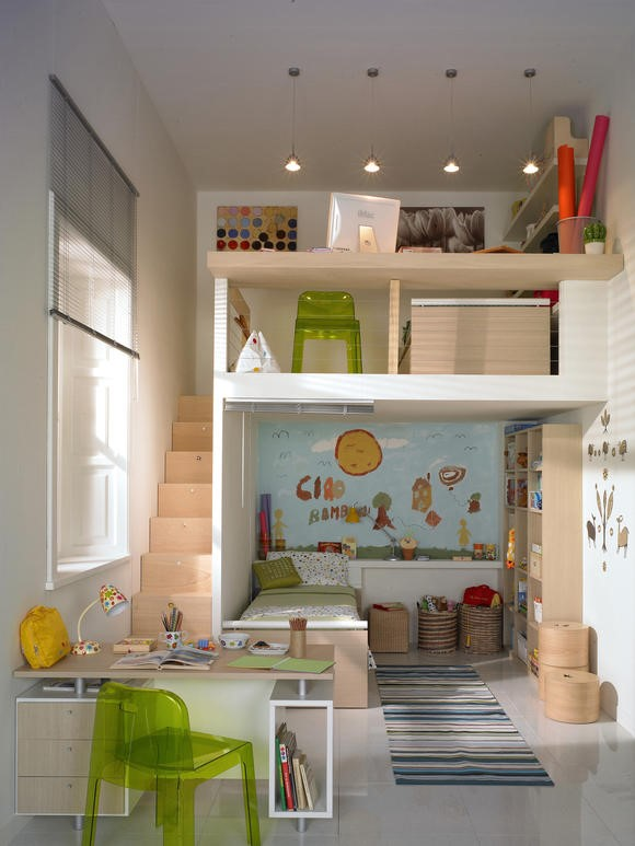 kinderzimmer einrichten f r zwei. Black Bedroom Furniture Sets. Home Design Ideas