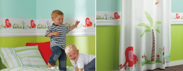 kinderzimmer farblich gestalten beispiele. Black Bedroom Furniture Sets. Home Design Ideas