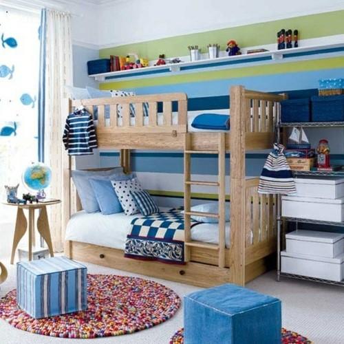 Kinderzimmer farblich gestalten jungs