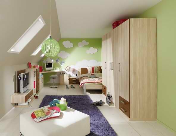 kinderzimmer f r buben. Black Bedroom Furniture Sets. Home Design Ideas