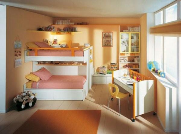 kinderzimmer ideen f r zwei. Black Bedroom Furniture Sets. Home Design Ideas