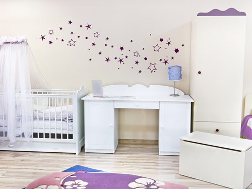 kinderzimmer ideen gestaltung w nde streichen. Black Bedroom Furniture Sets. Home Design Ideas