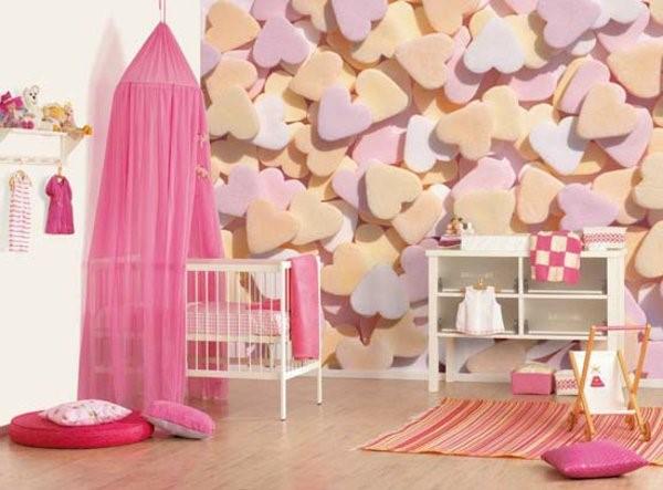 kinderzimmer m dchen deko. Black Bedroom Furniture Sets. Home Design Ideas