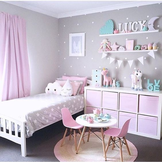 Kinderzimmer m dchen deko for Zimmer deko dachschrage