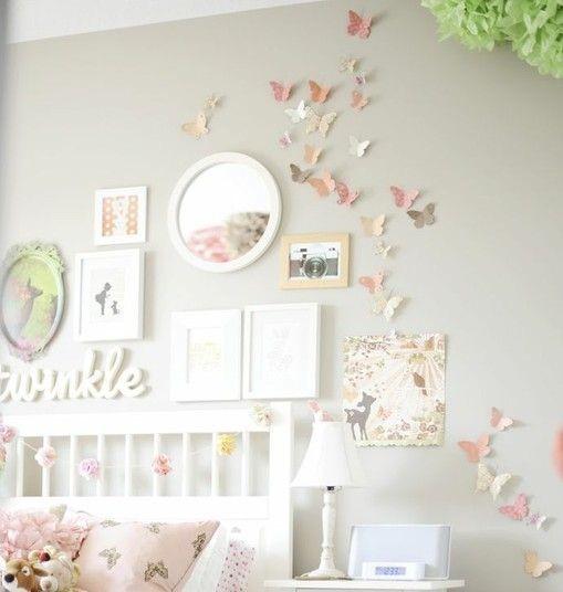 Kinderzimmer m dchen deko for Zimmer deko weltraum