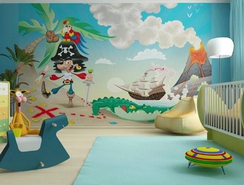 Kinderzimmer wand selbst gestalten - Tapete selbst gestalten ...