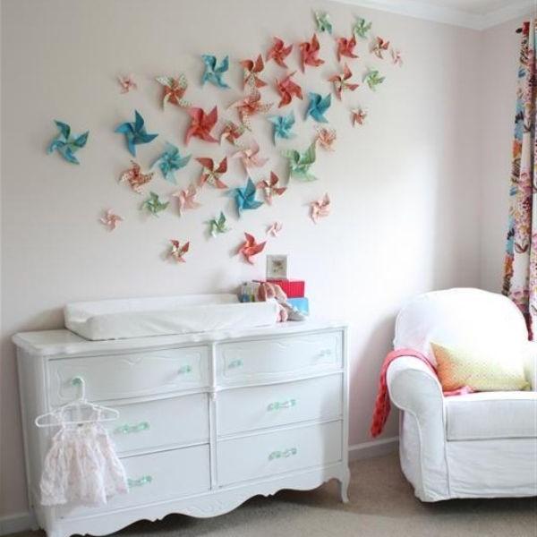 Kinderzimmer wand selbst gestalten - Gestaltungsideen babyzimmer ...