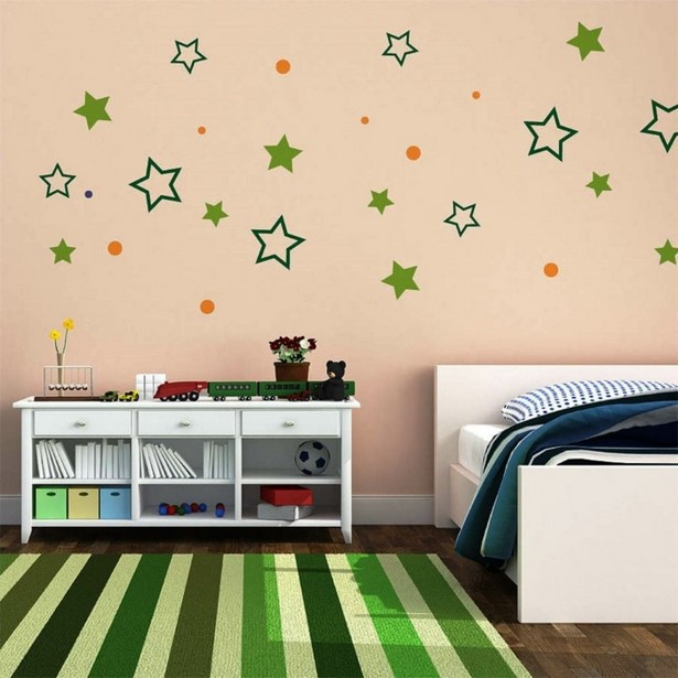 kinderzimmer wand selbst gestalten. Black Bedroom Furniture Sets. Home Design Ideas