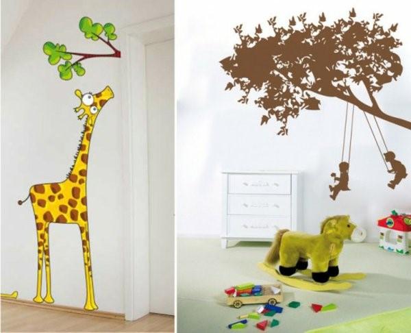 Kinderzimmer wand selbst gestalten - Fototapete madchenzimmer ...