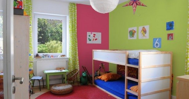 kinderzimmer wandfarben beispiele. Black Bedroom Furniture Sets. Home Design Ideas
