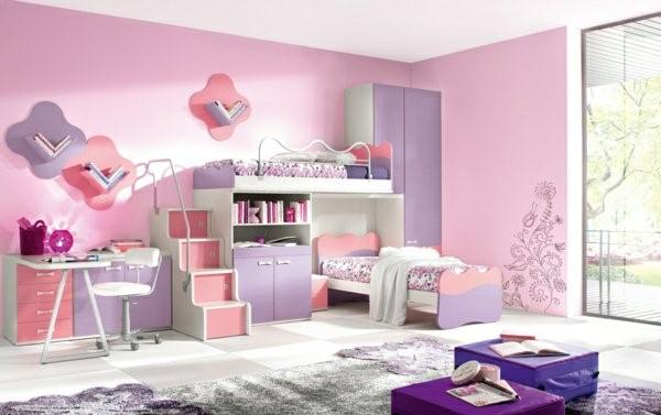 kinderzimmer wandgestaltung m dchen. Black Bedroom Furniture Sets. Home Design Ideas