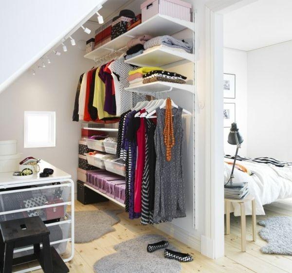 kleiderschrank mit einrichtung. Black Bedroom Furniture Sets. Home Design Ideas