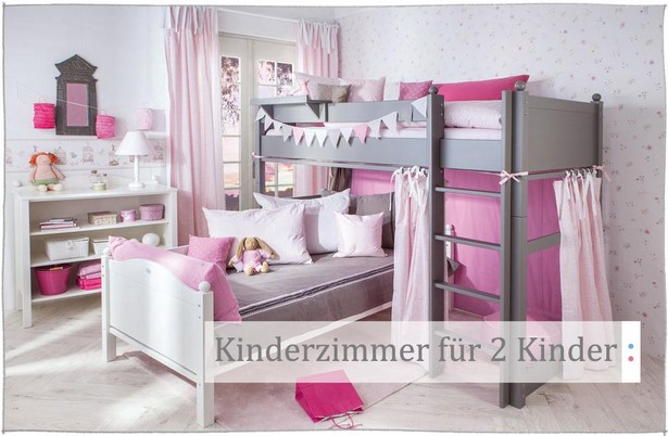 kleines kinderzimmer f r zwei einrichten. Black Bedroom Furniture Sets. Home Design Ideas