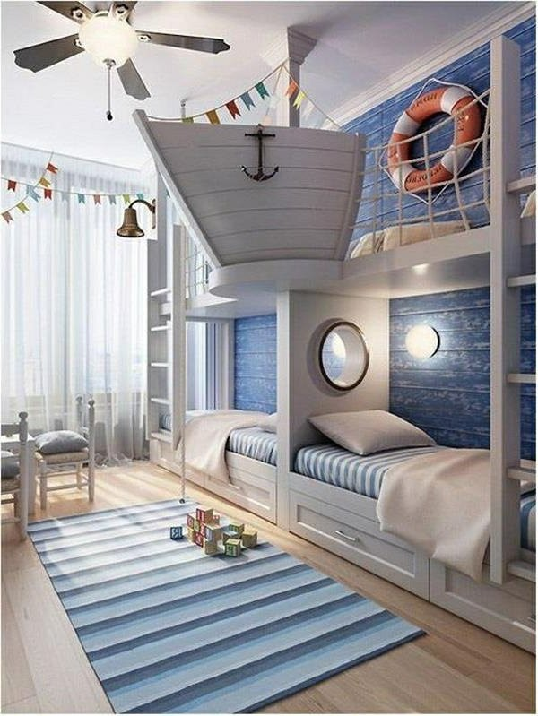 maritime kinderzimmer deko. Black Bedroom Furniture Sets. Home Design Ideas