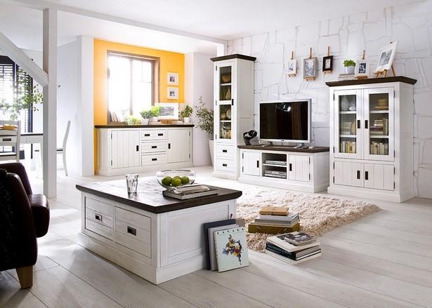 wohnzimmer landhaus clement landhausmoebel weiss holz akazie massiv - Wohnzimmer Landhausstil Holz