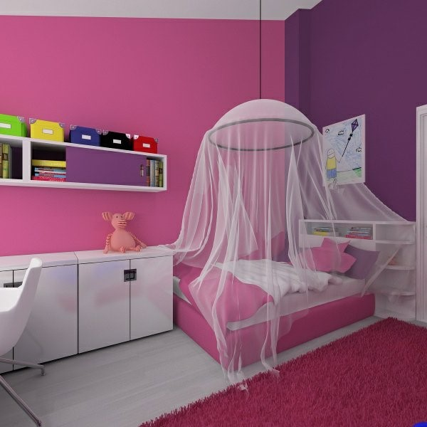 M dchenzimmer wandgestaltung for Wohnungsgestaltung farben