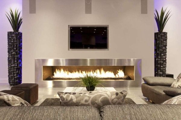 moderne wohnzimmer deko ideen. Black Bedroom Furniture Sets. Home Design Ideas