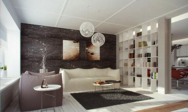 Trennwand wohnzimmer esszimmer