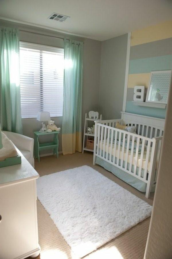 Wandfarbe babyzimmer ideen for Babyzimmer einrichten ideen