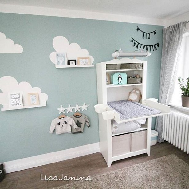 wandfarbe f r babyzimmer. Black Bedroom Furniture Sets. Home Design Ideas