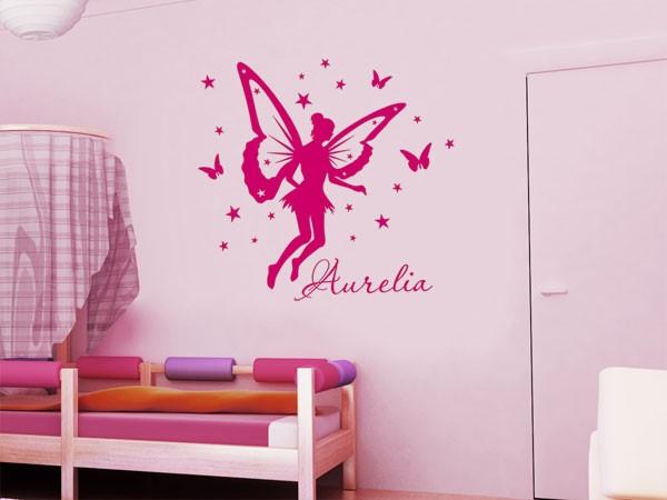 Wandgestaltung babyzimmer m dchen - Babyzimmer tattoo ...