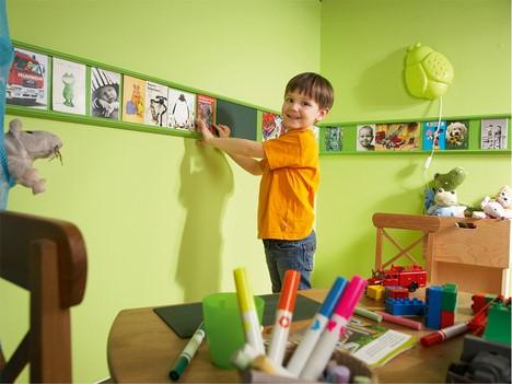 wandgestaltung jungen kinderzimmer. Black Bedroom Furniture Sets. Home Design Ideas