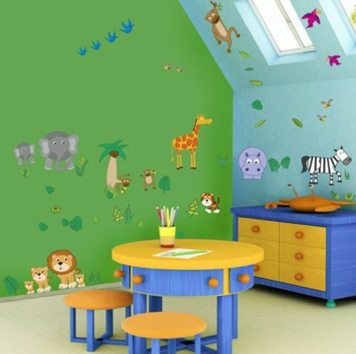 w nde streichen kinderzimmer ideen. Black Bedroom Furniture Sets. Home Design Ideas
