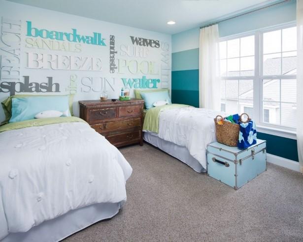 Babyzimmer Streichen Beispiele wände streichen kinderzimmer ideen