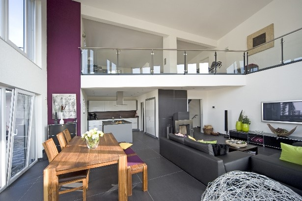 wohn essbereich gestalten. Black Bedroom Furniture Sets. Home Design Ideas
