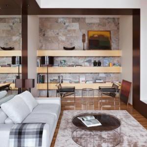 wohnideen wohnzimmer steinwand. Black Bedroom Furniture Sets. Home Design Ideas