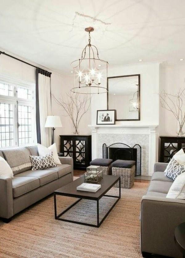 wohnzimmer elegant einrichten