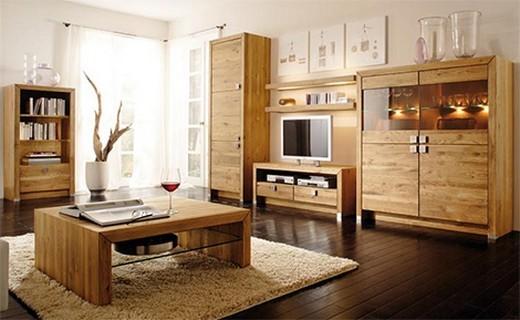 Wohnzimmer holzmöbel