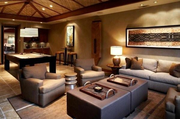 Wohnzimmer holzm bel for Dekoration wohnung modern