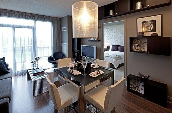 Kleine Wohnzimmer Einrichten Gestalten: Wohnzimmer Mit Essecke Einrichten