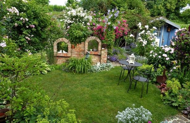 Garten Sitzecke Gestalten Ideen Für Kleine Große Gärten: Kleine Gärten Gestalten