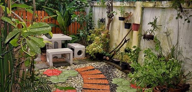 Kleine g rten gestalten for Kleine straucher vorgarten