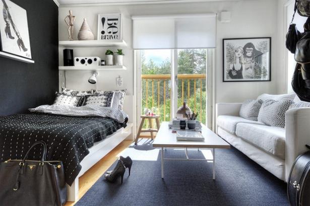 1 Zimmer Wohnung Gestalten Ideen