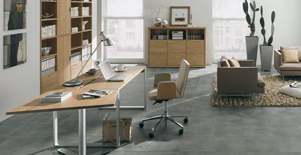 Arbeitszimmer einrichten