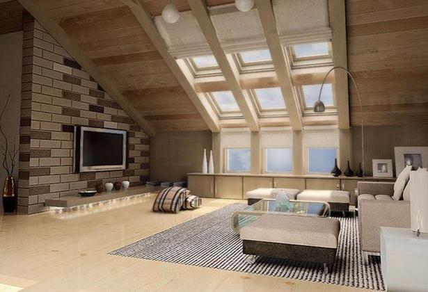 Wohnideen Dachwohnung dachwohnung einrichten ideen