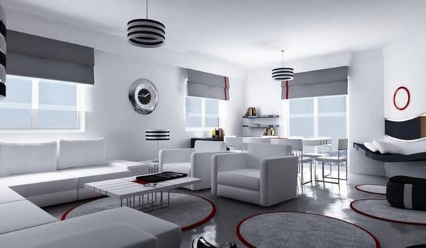 einrichten mit grau. Black Bedroom Furniture Sets. Home Design Ideas