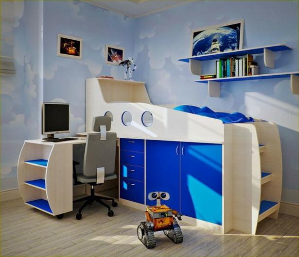 Kinderzimmer platzsparend einrichten - Jugendzimmer platzsparend ...