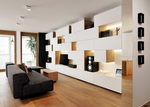 kleine wohnungen optimal einrichten. Black Bedroom Furniture Sets. Home Design Ideas