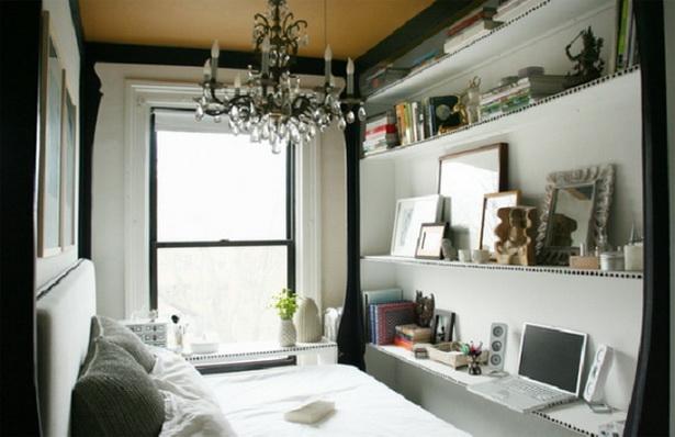 Kleines wohn-schlafzimmer einrichten