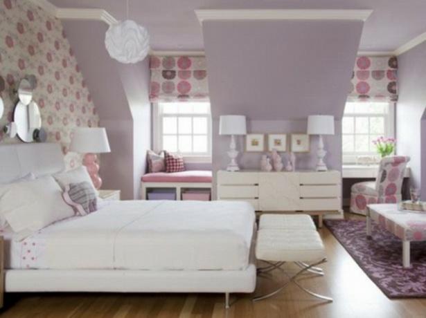 Lila schlafzimmer gestalten